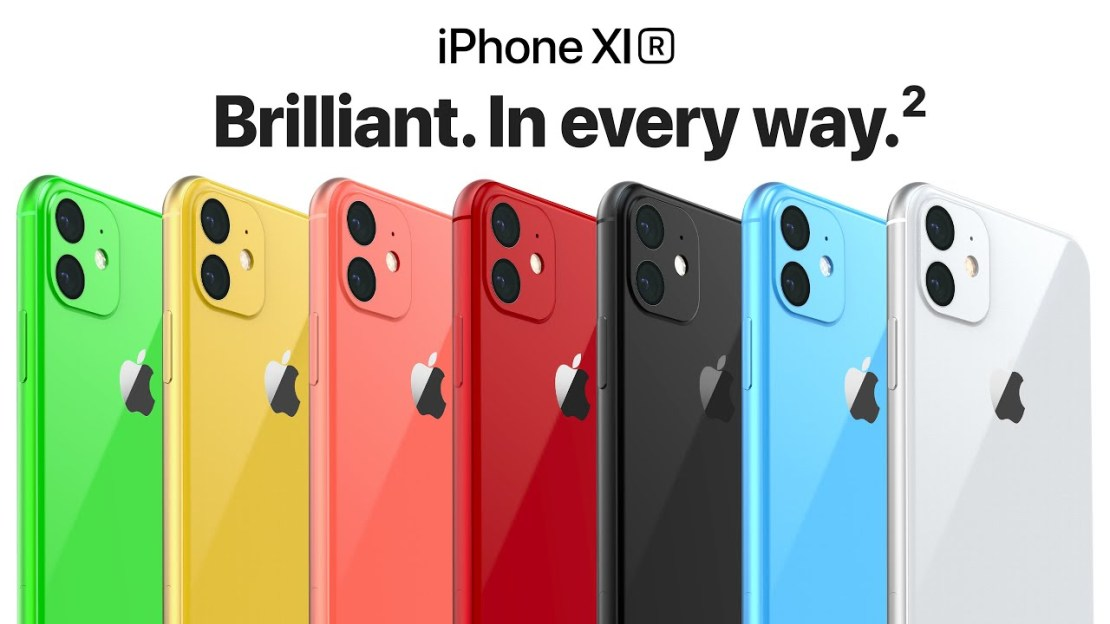 iPhone XIR – Brilliant. In every way.