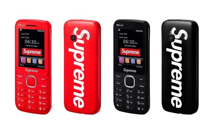 Supreme® BLU Burner Phone