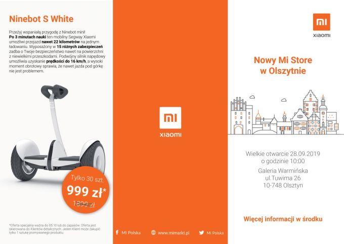 Mi Store w Olsztynie (ulotka)