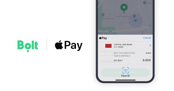 Za przejazd z Boltem zapłacisz także przez Apple Pay!
