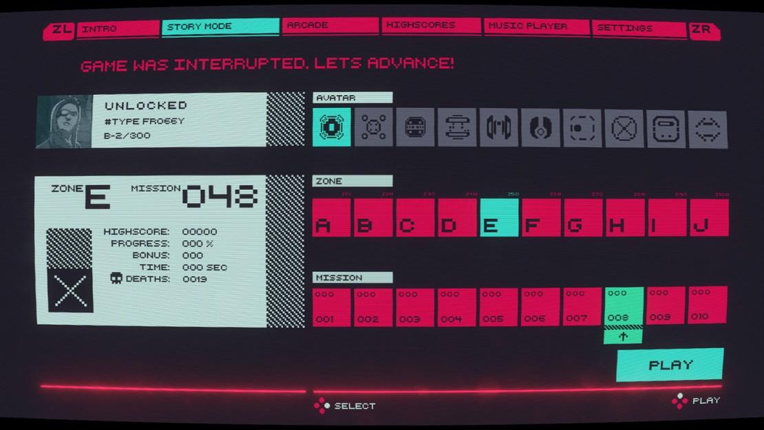 Cyber Protocol (Nintendo Switch) - screen