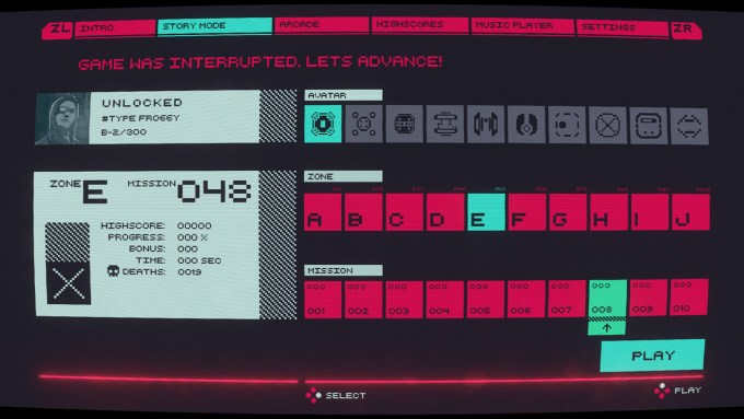 Cyber Protocol (Nintendo Switch) - screen