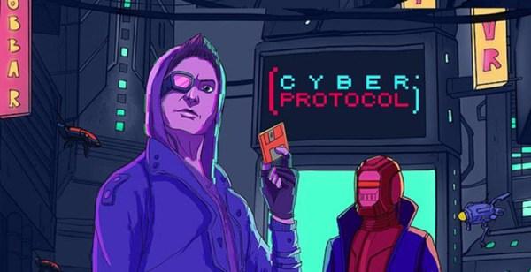 Zagraj w Cyber Protocol na Nintendo Switch – poszukaj kodów do pobrania gry!