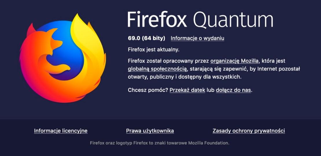 Firefox 69 Quantum