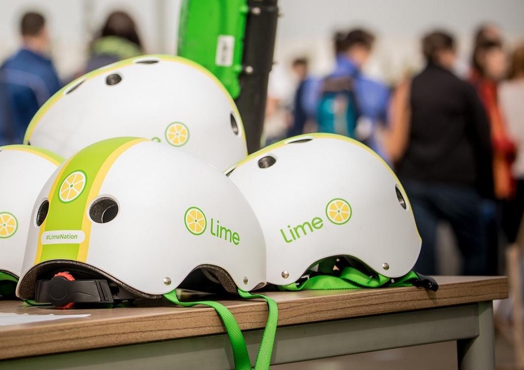 Kaski z logo Lime