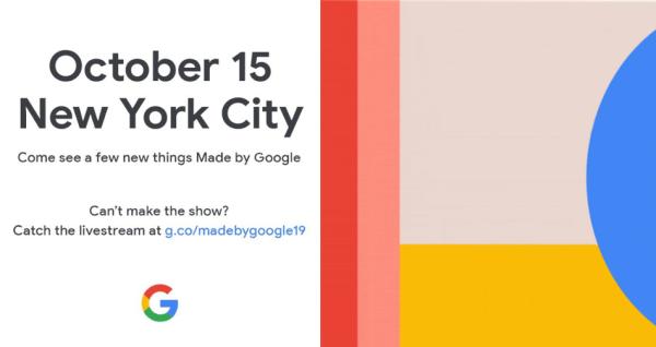 Pixel 4 zostanie zaprezentowany 15 października