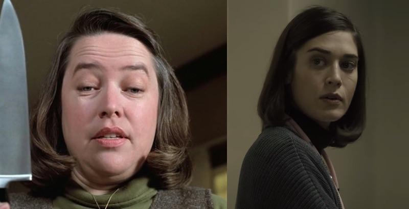 Od lewej: Misery (1990), Castel Rock (2019)