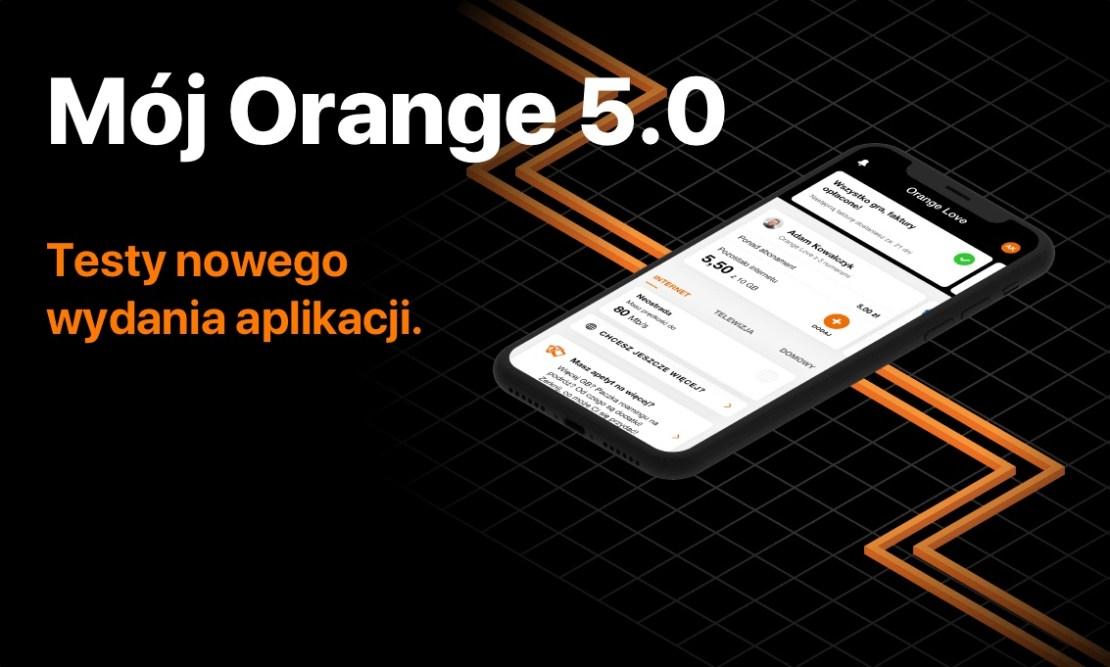 Mój Orange 5.0 (testy beta)