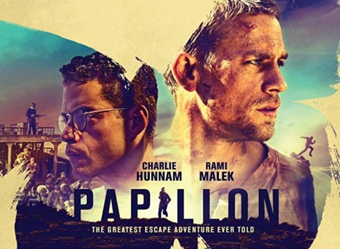 "Plakat filmu ""Papillon. Motylek"" (2017)"