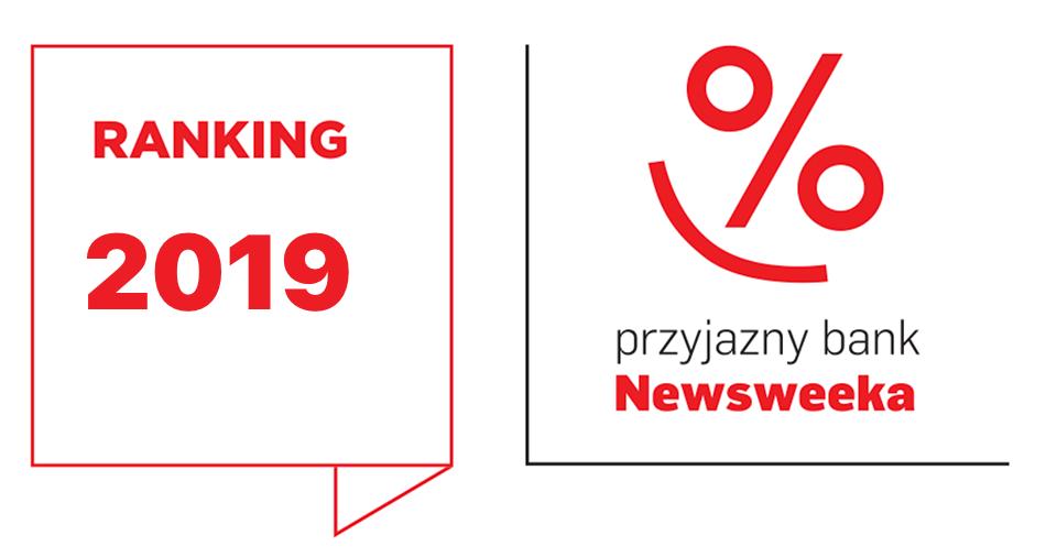Przyjazny Bank Newsweeka 2019 - wyniki