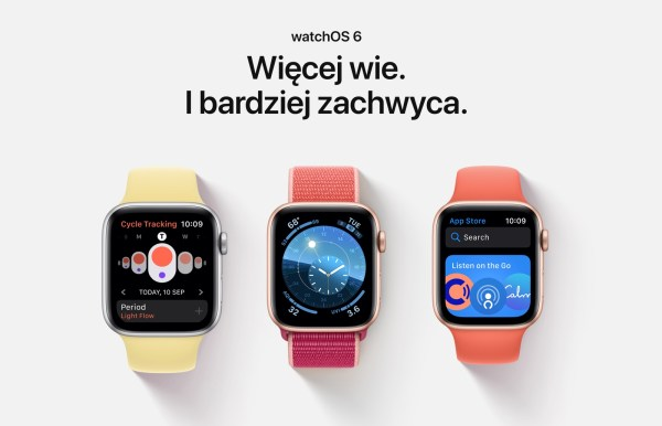 Nowy system watchOS 6 już dostępny dla wszystkich