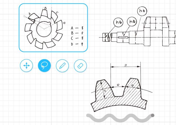 Aplikacja mobilna Carbo - Notes & Sketches