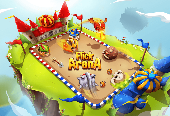 Flick Arena: Real-Time Arena PVP Battle Free