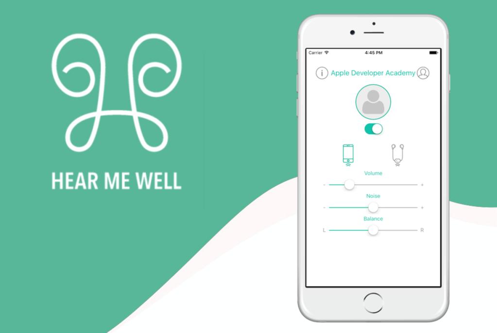"""Aplikacja mobilna """"Hear me Well"""""""