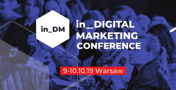 Kolejna edycja konferencji in Digital Marketing już 9 października!