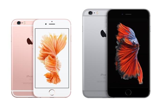 iPhone 6s (różowe złoto) i iPhone 6s Plus (gwiezdna szarość)