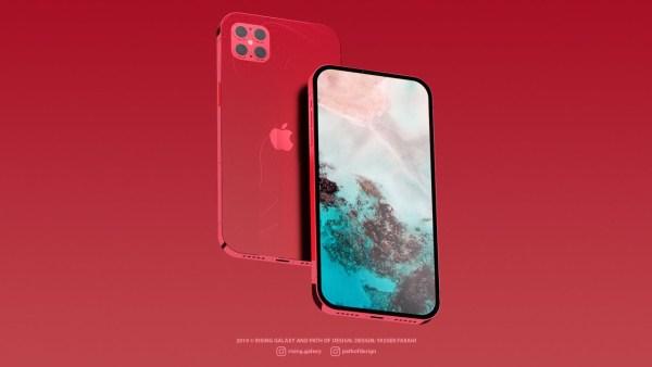 Luźna koncepcja iPhone'a 12 Pro na 2020 rok