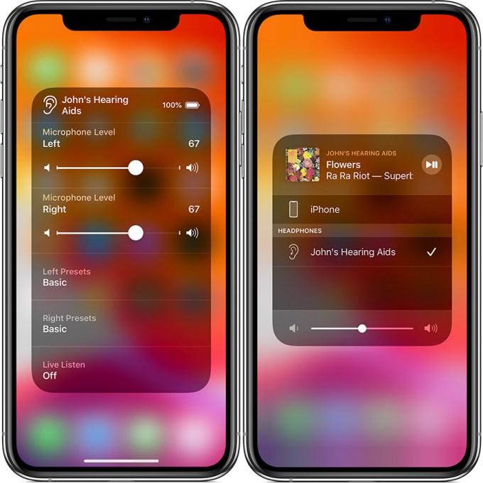 Funkcja Live Listen iOS