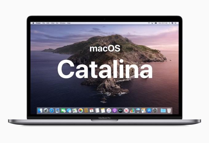 macOS Catalina (10.15)