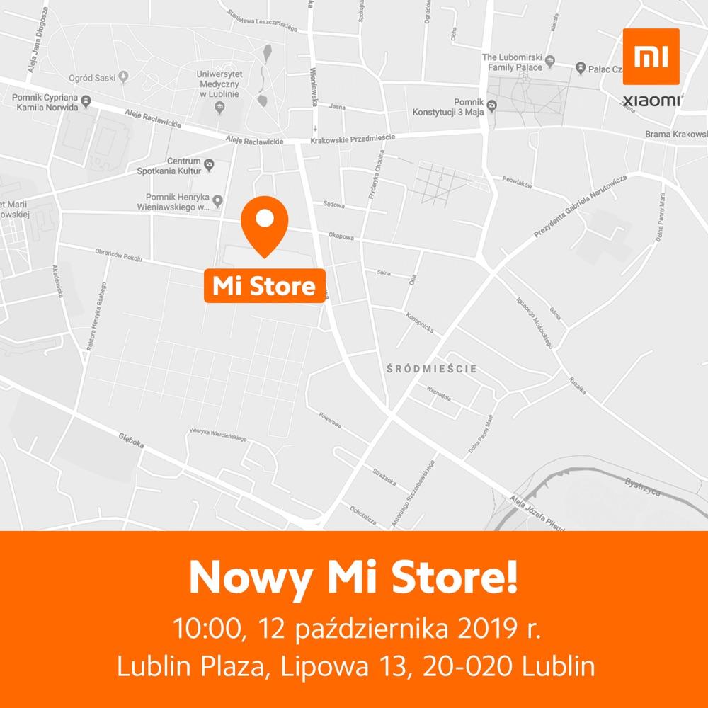 Mi Store w Lublinie (mapa)