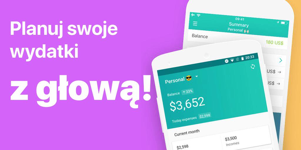 Planuj swoje wydatki z głową z aplikacją Moneon