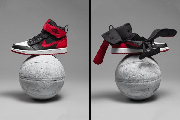 Kultowy model butów Nike Air Jordan 1 z systemem FlyEase