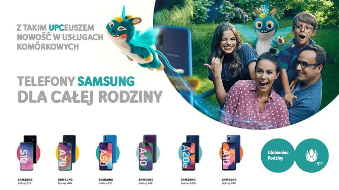 Oferta mobilna ze smartfonami Samsunga w UPC Polska