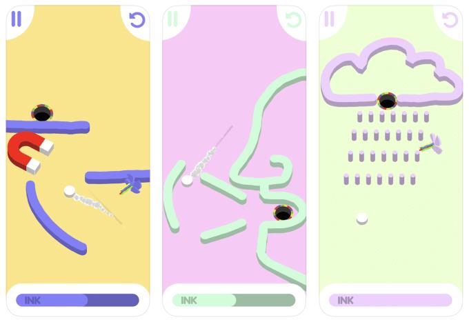 Zrzuty ekranu z gry mobilnej DROLF