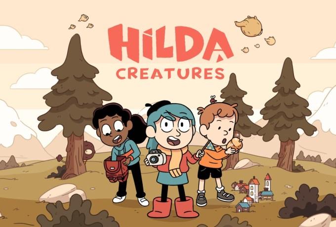 """Gra mobilna """"Hilda Creatures"""""""
