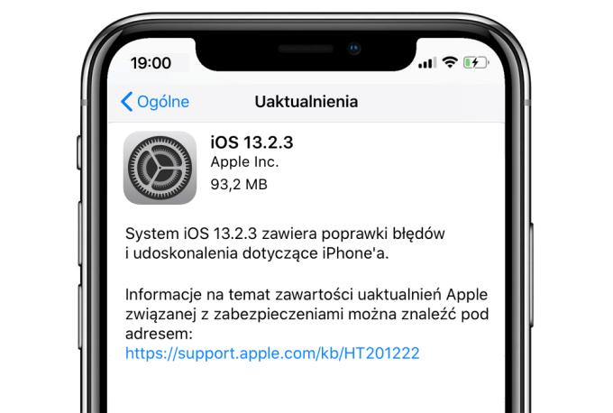 iOs 13.2.3 update