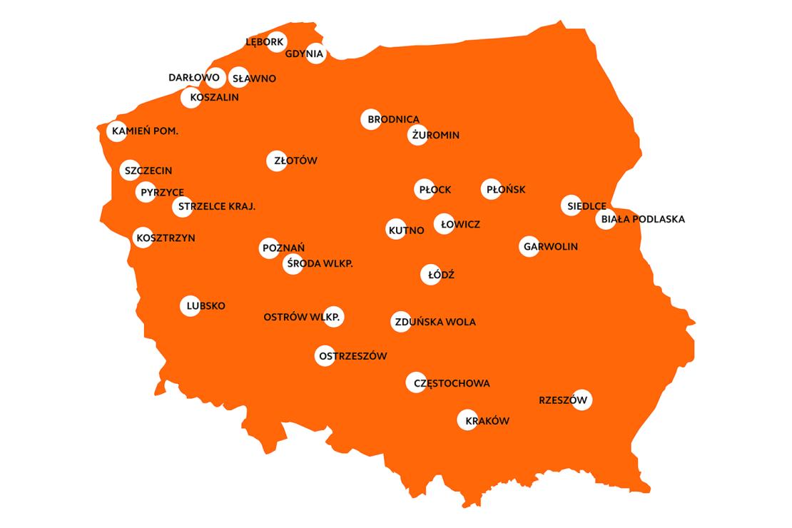 mapa Xiaomi Mi Points w Polsce (30)