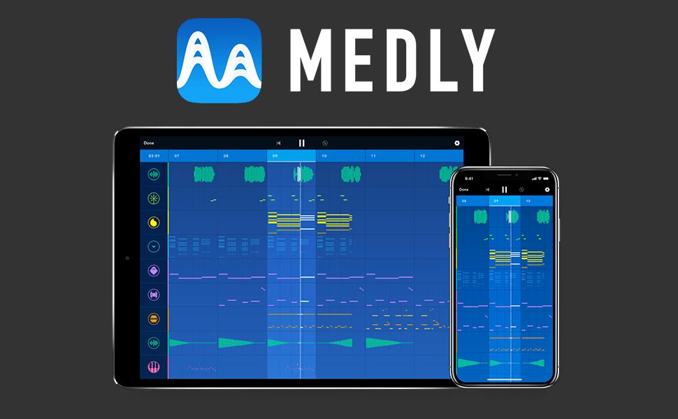 """Aplikacja mobilna """"Medly"""""""
