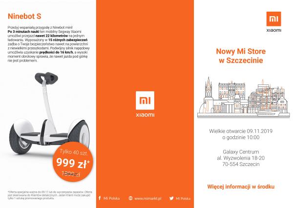 Xiaomi otwiera pierwszy Mi Store w Szczecinie, a 12. w Polsce