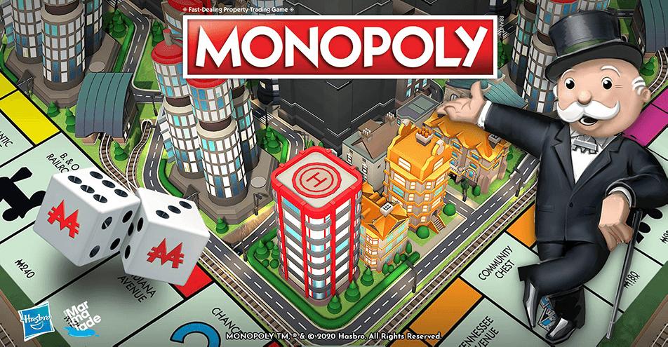 Gra mobilna Monopoly na licencji Hasbro