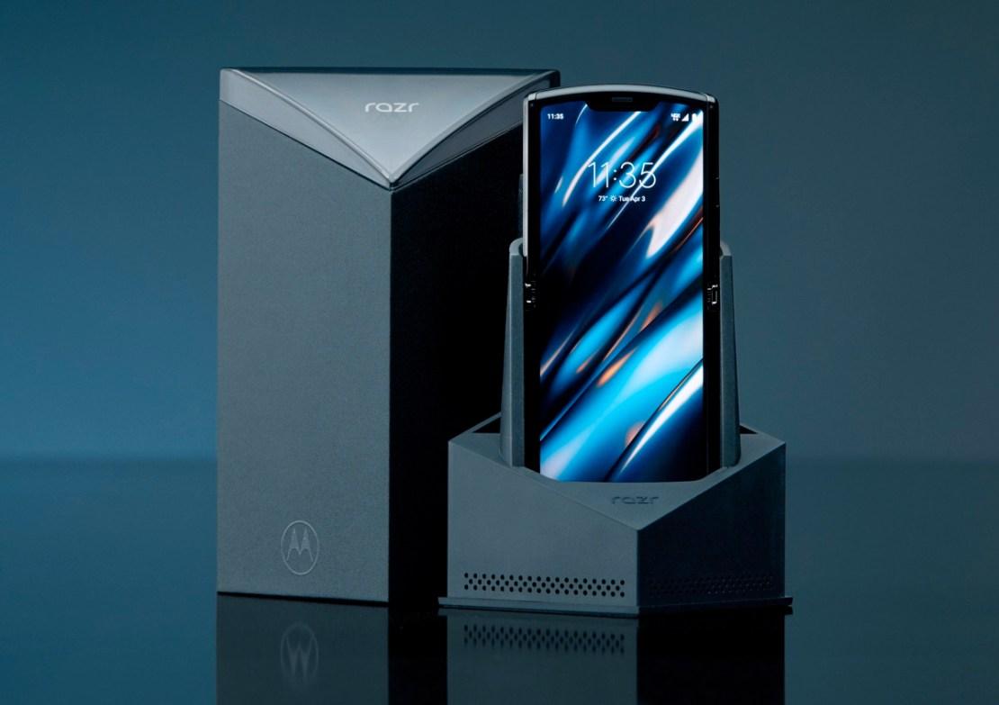 Motorola razr (2019) - pudełko