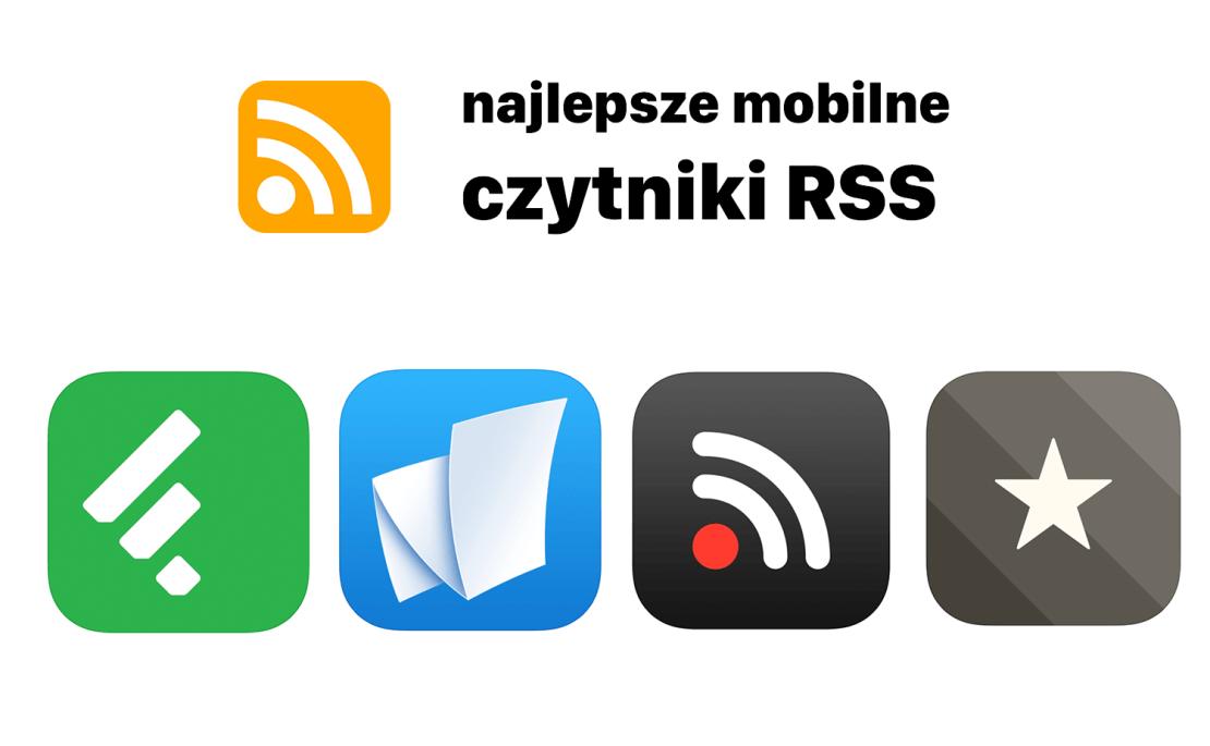 Najlepsze mobilne czytniki RSS (ikony aplikacji mobilnych)