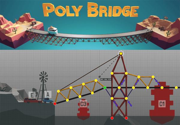 """W """"Poly Bridge"""" możesz skonstruować cuda architektury"""