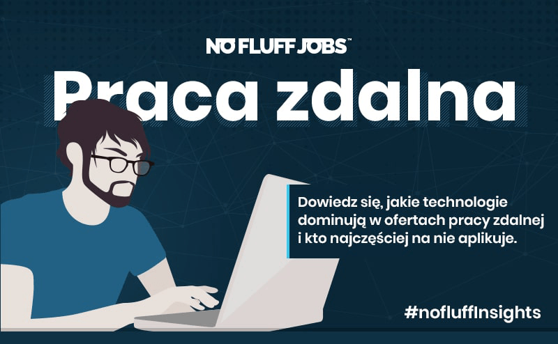 """Praca zdalna"" – raport No Fluff Jobs"