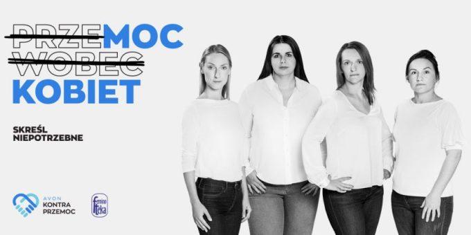 """Bohaterki akcji """"PrzeMOC wobec KOBIET. Skreśl niepotrzebne"""""""