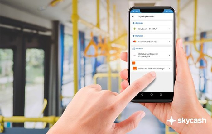 Dolicz do rachunku Orange w aplikacji mobilnej Skycash