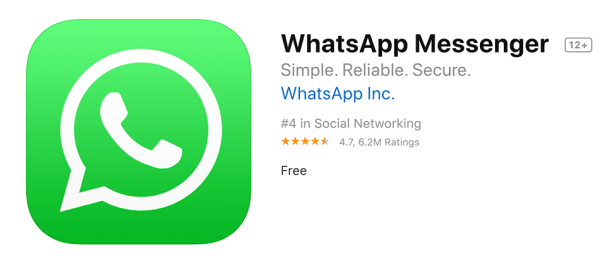WhatsApp 2.19.120 na iPhone'a z nowymi funkcjami