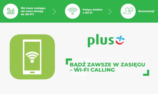 """""""WiFi Calling+"""" wreszcie dostępne dla abonentów Plusa…"""