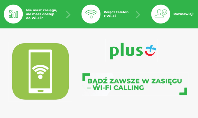 Aplikacja mobilna WiFi Calling+