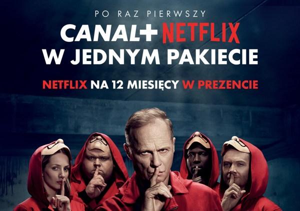 Netflix przez rok w prezencie w pakiecie z Canal+