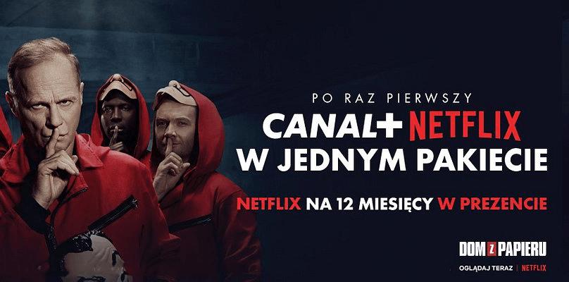 CANAL+ i Netflix w jednym pakiecie