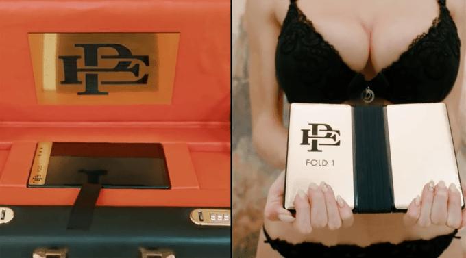 Kadr ze spotu reklamowego smartfona Escobar Fold 1
