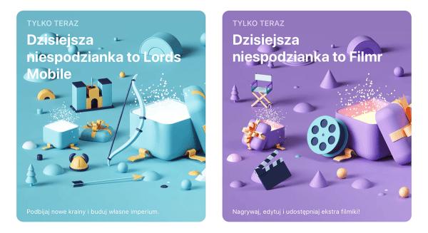 """""""Filmr"""" i """"Lords Mobile"""" z dzisiejszą niespodzianką w App Storze"""