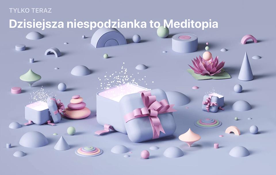 Niespodzianka App Store (27 grudnia): Meditopia