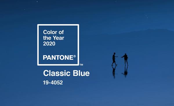 """Jakie znaczenie ma kolor 2020 roku """"PANTONE 19-4052 Classic Blue""""?"""