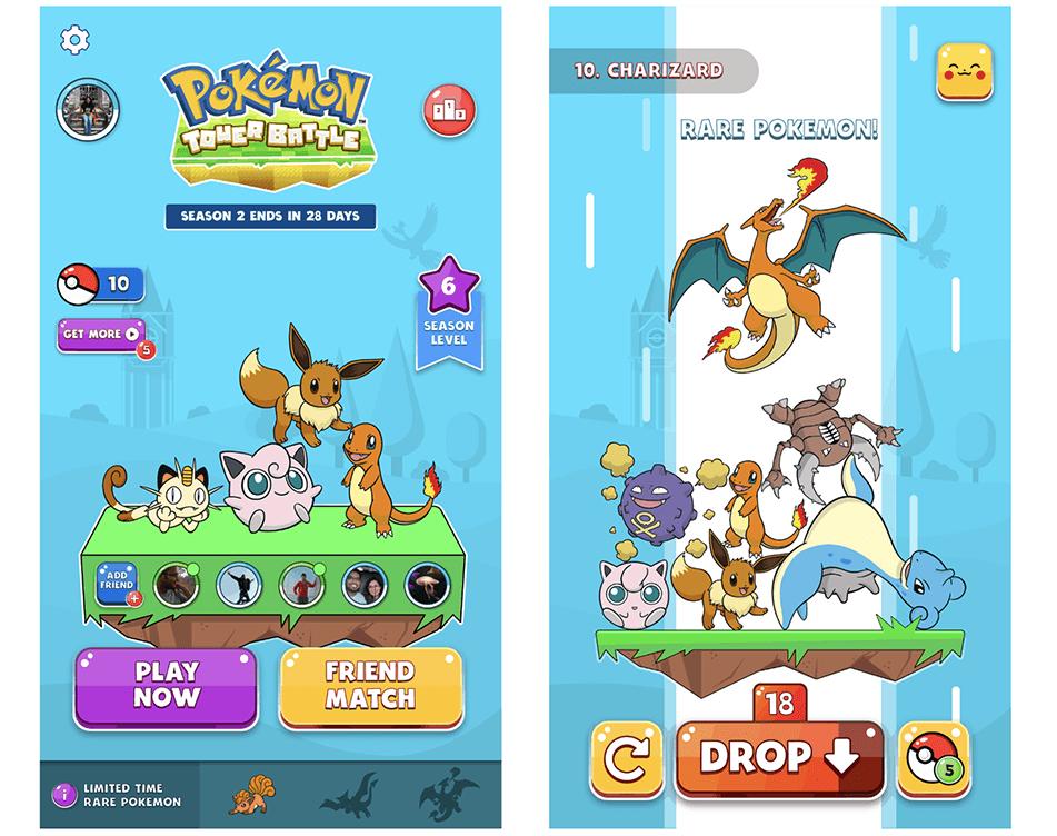 "Zrzut ekranu z gry ""Pokémon Medallion Battle"""